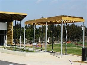 פרגולות בפארק הרצליה